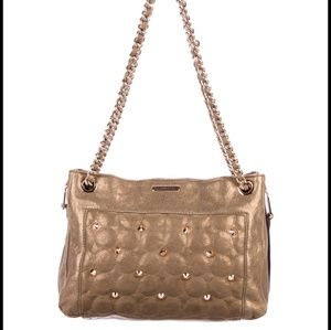 Rebecca Minkoff Rose Bronze gold bag